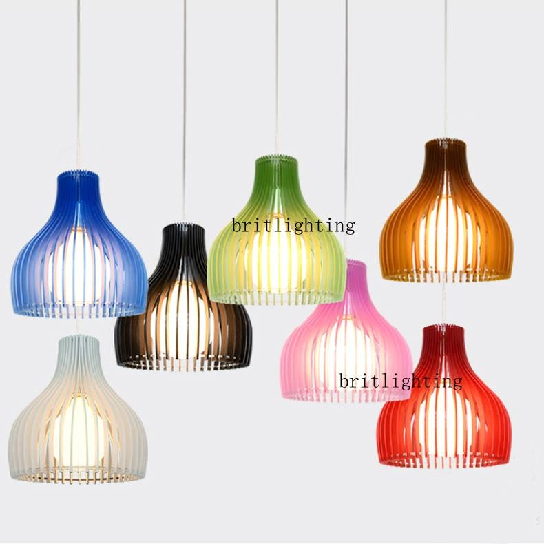Aliexpress : Buy Multi Colour Pendant Lamp Modern Pendant Pertaining To Coloured Cord Pendant Lights (#7 of 15)