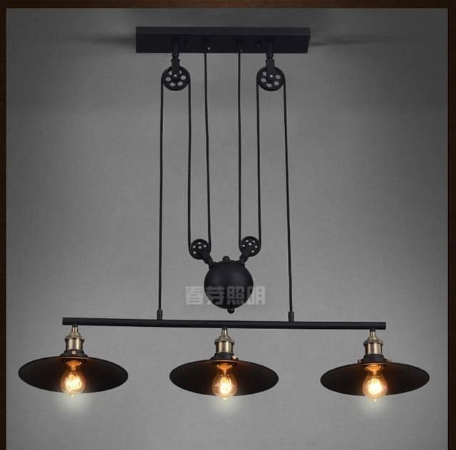 Popular Photo of Pulley Lights Fixtures