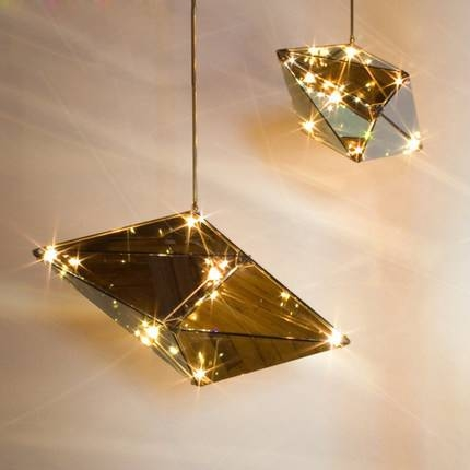 Aliexpress : Buy Nordic Luxury Diamond Droplight Modern Within Luxury Pendant Lighting (View 3 of 15)