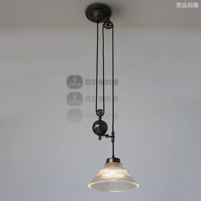 Aliexpress : Buy Vintage Loft Retractable Glass Pulley Lifting Within Retractable Pendant Lights Fixtures (View 14 of 15)