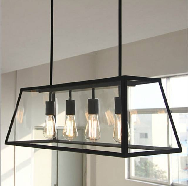 Aliexpress : Buy Vintage Pendant Light Industrial Edison Lamp Intended For Industrial Style Pendant Light Fixtures (#1 of 15)
