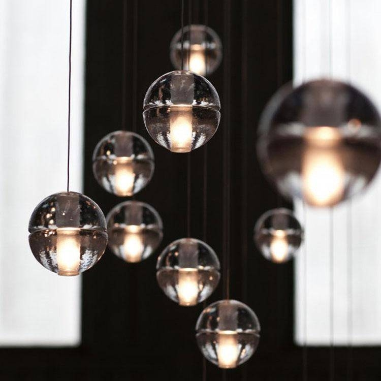 Amazing Glass Ball Pendant Light Glass Orb Pendant Light Soul Intended For Glass Orb Pendant Lights (#1 of 15)