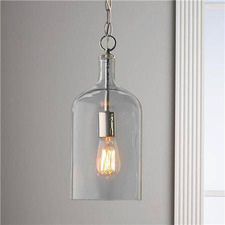 Amazing Glass Pendant Light Fixtures Clear Blown Glass Pendant Within Bubble Glass Pendant Lights (#2 of 15)