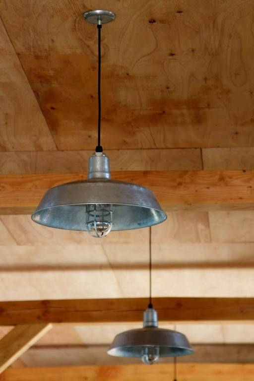 American Made Industrial Pendant Lights For Uk Project | Blog Regarding Galvanized Pendant Barn Lights (#6 of 15)