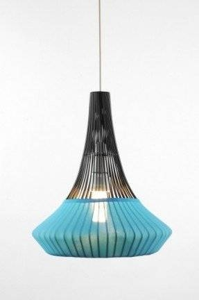 Aqua Pendant Lamp – Foter In Blue Pendant Light Fixtures (#2 of 15)