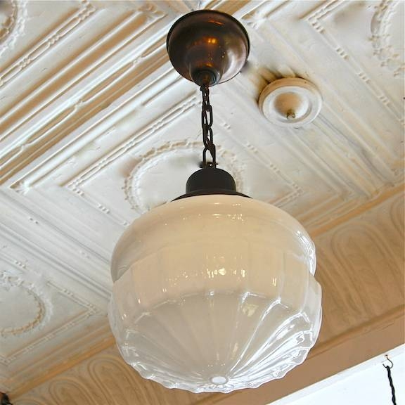 Superior Inspiration About Art Deco | Cityfoundry Inside Milk Glass Pendant Light  Fixtures (#15 Of