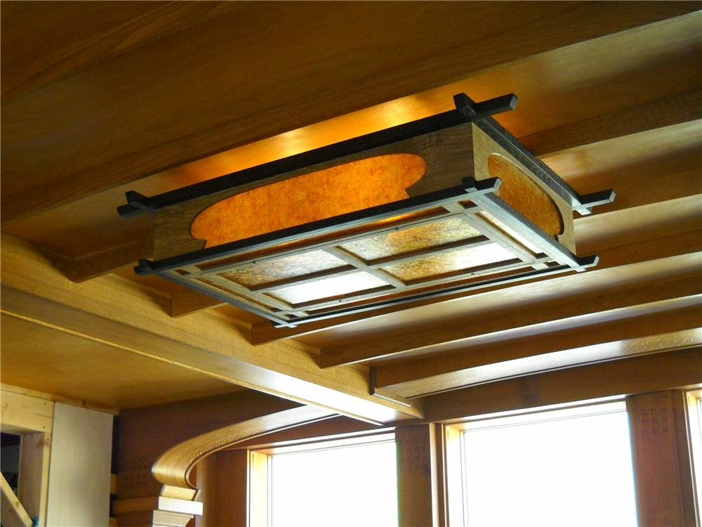 Arts And Crafts Ceiling Lights Make Your Home More Functional And In Arts And Crafts Lights (View 11 of 15)