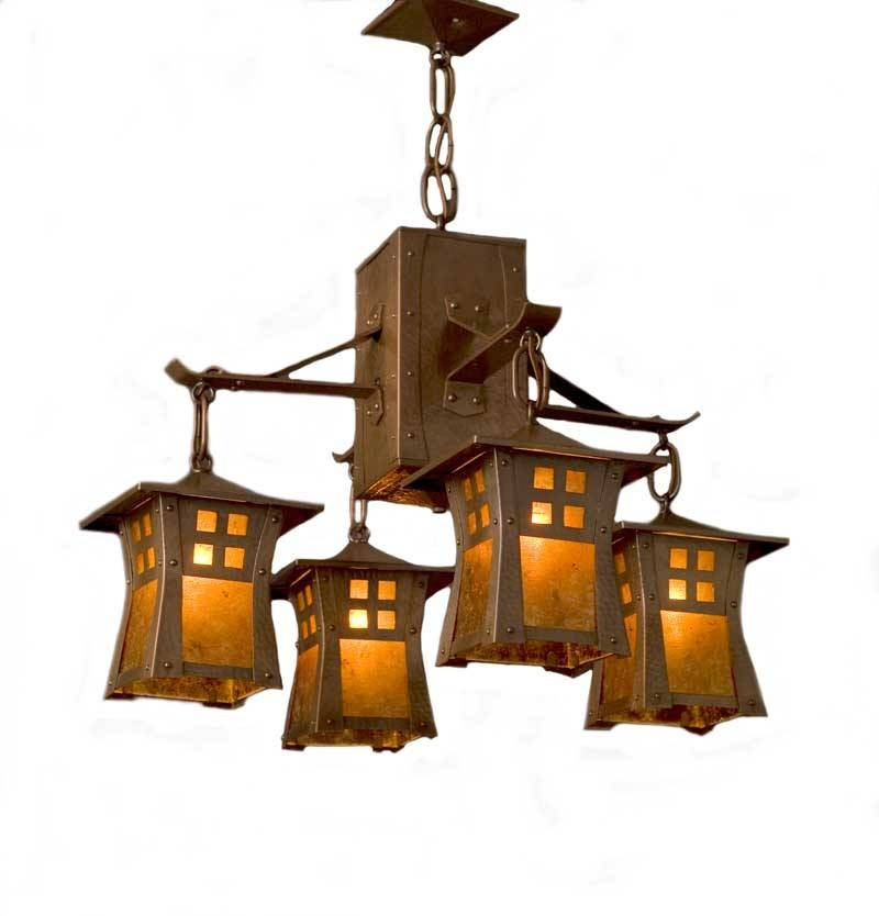 Arts And Crafts Chandelier Design – The Probindr Furniture – The For Arts And Crafts Pendant Lights (#5 of 15)