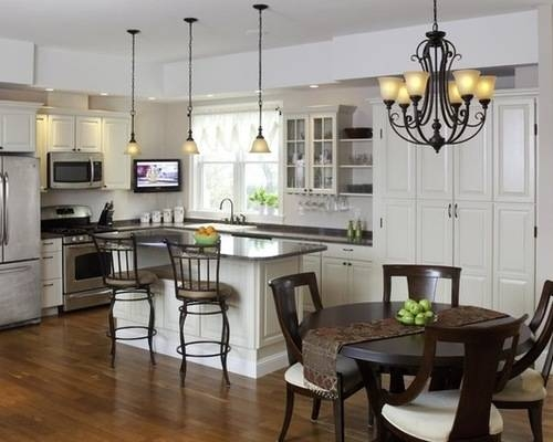 Awesome Pendant Lighting With Matching Chandelier Kitchen Kitchen Within Matching Pendant Lights And Chandeliers (#6 of 15)