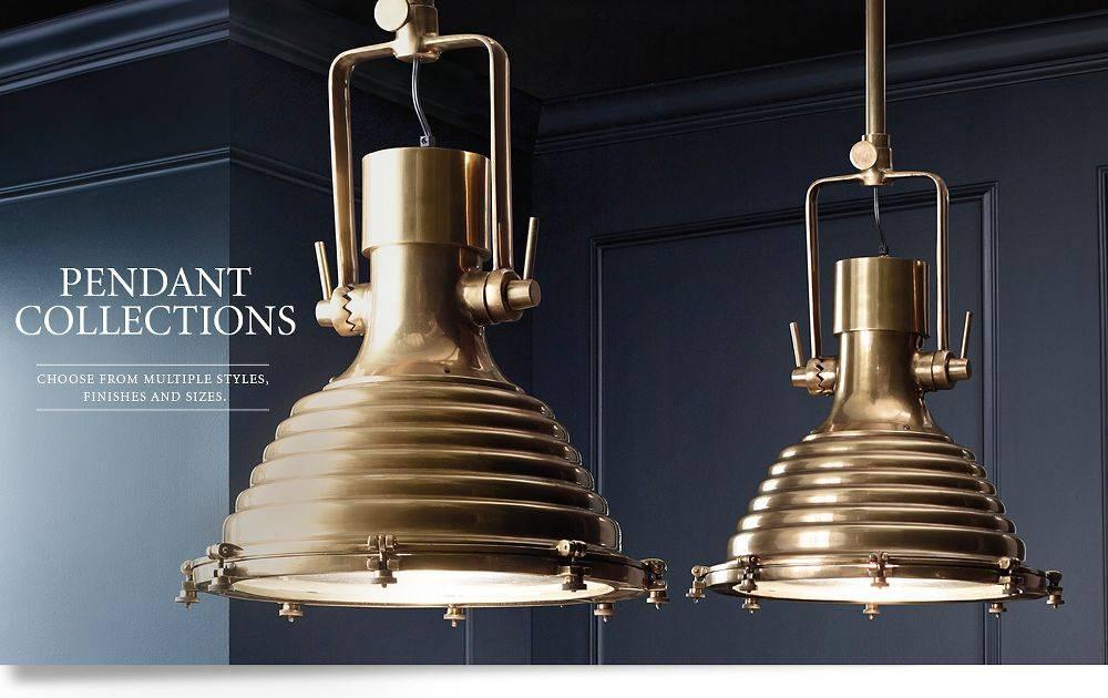 15 Best Collection Of Restoration Hardware Pendant Lights