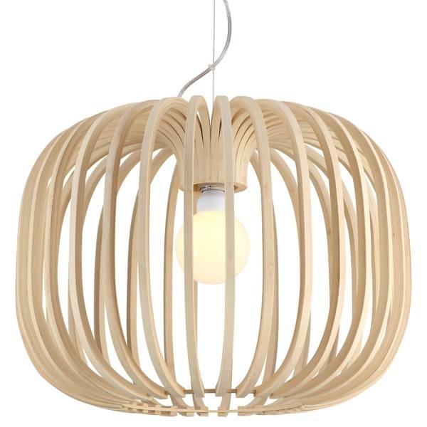 Bamboo Pendant Lighting Ay Illuminate Ari Timber Light Inside Batten Fix Pendant Lighting (#7 of 15)