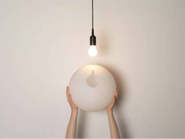 Bare Bulb Beautifiers : Hang On Easy Intended For Bare Bulb Lights Fixtures (View 2 of 15)