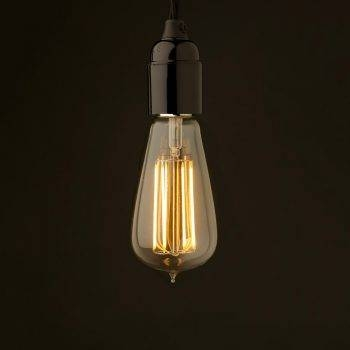 Bare Bulb Pendant Within Bare Bulb Pendant Lights Fixtures (#4 of 15)