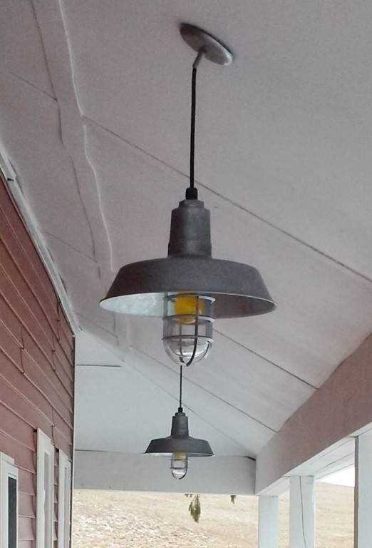 Barn Lights Capture Working Farm's Humble Roots | Blog With Regard To Galvanized Pendant Barn Lights (#7 of 15)