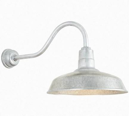 Barn Lights Outdoor For The Beauty Of Your Homestead | Warisan Throughout Galvanized Barn Lights (#4 of 15)