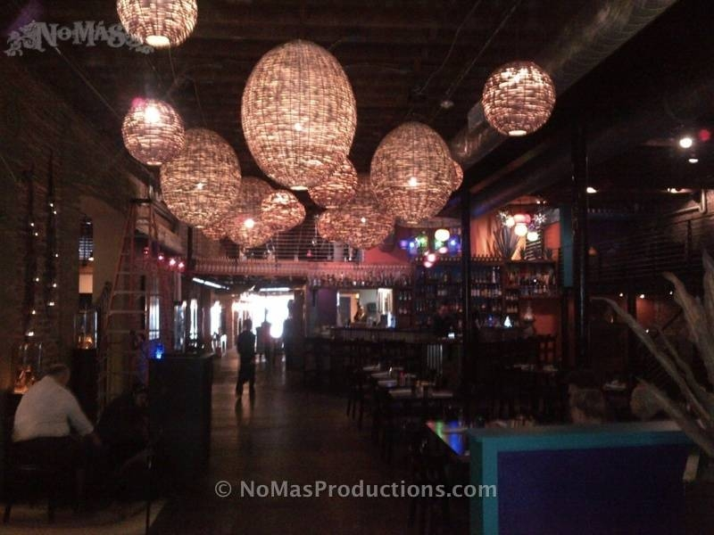 Basket Lights As Decorative Lanterns – No Mas! Productions In Mexican Pendant Lights (#3 of 15)