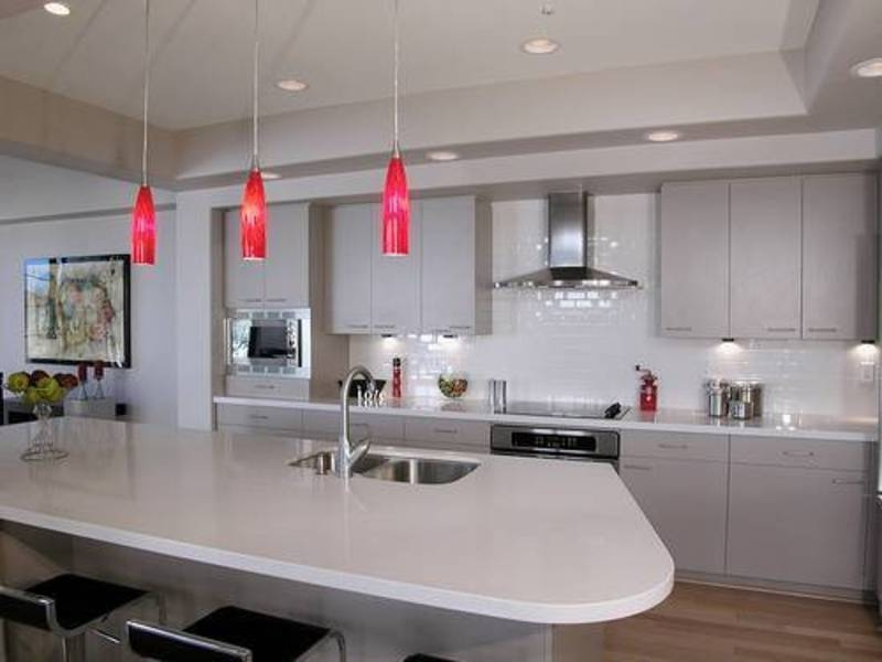 Beautiful Pendant Lights For Kitchen Island | On2Go Pertaining To Kitchen Island Single Pendant Lighting (#2 of 15)