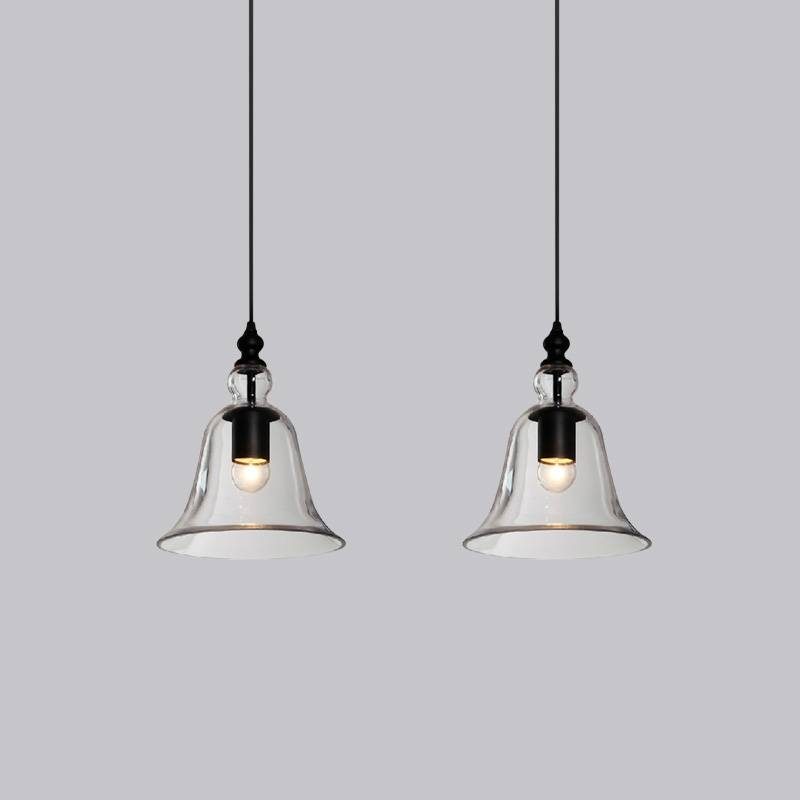 Bell Pendant Light Picture – More Detailed Picture About Modern With Regard To Glass Bell Shaped Pendant Light (#5 of 15)