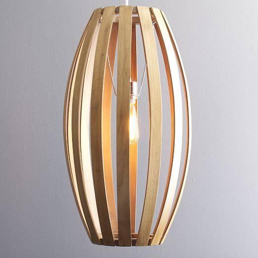Bentwood Pendants | West Elm For Bent Wood Pendant Lights (#4 of 15)