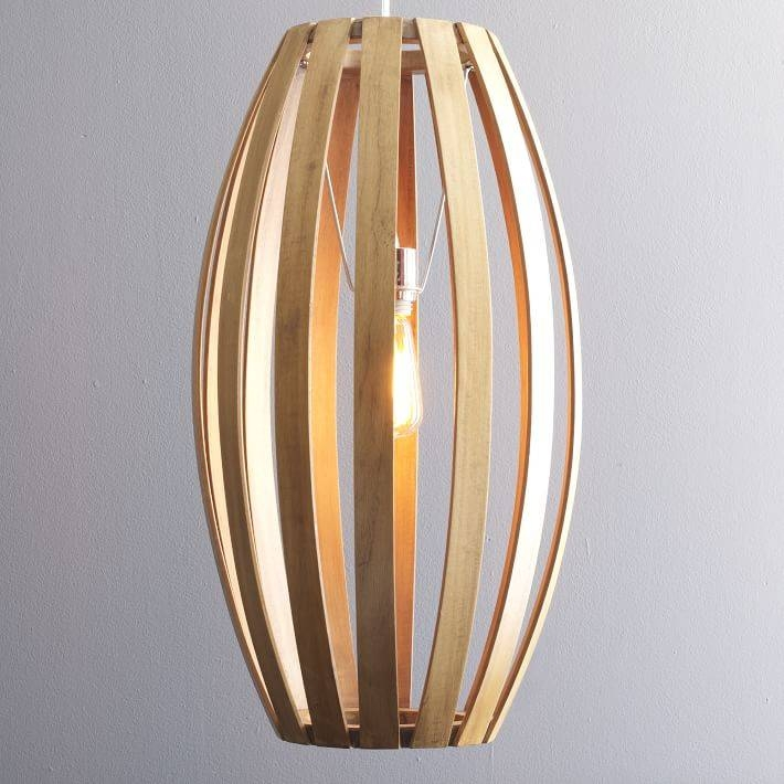Bentwood Pendants | West Elm Pertaining To Bentwood Lighting (#5 of 15)