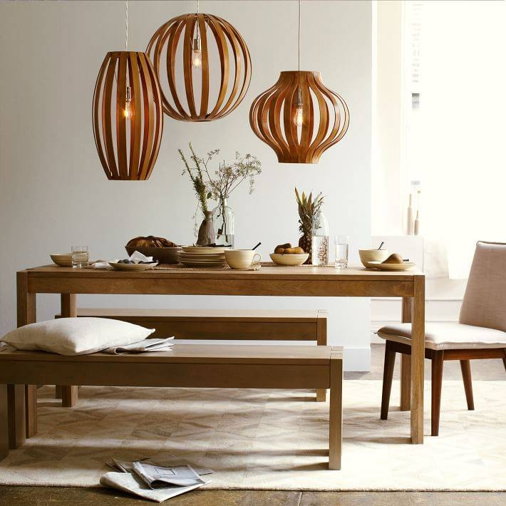 Bentwood Pendants | West Elm With Bentwood Pendants (#8 of 15)