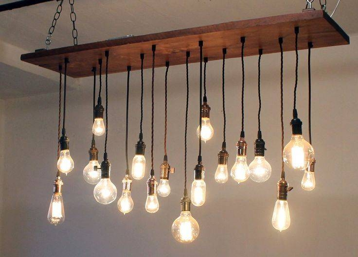Best 10+ Hanging Light Bulbs Ideas On Pinterest | Light Bulb Vase Regarding Exposed Bulb Pendant Lights (#3 of 15)