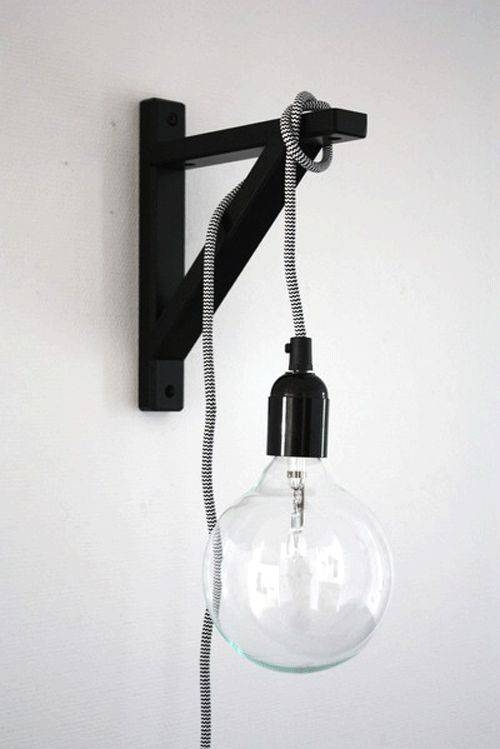 Best 10+ Hanging Light Bulbs Ideas On Pinterest | Light Bulb Vase With Ikea Plug In Pendant Lights (View 1 of 15)