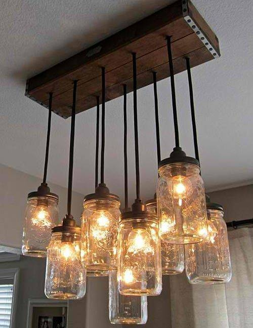Best 10+ Jar Lights Ideas On Pinterest | Diy Mason Jar Lights Regarding Ball Jar Pendant Lights (#3 of 15)