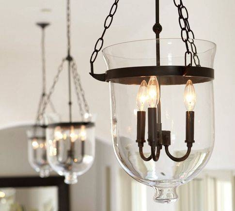 Best 10+ Pottery Barn Lighting Ideas On Pinterest | Barn Lighting Pertaining To Glass Bell Shaped Pendant Light (#6 of 15)
