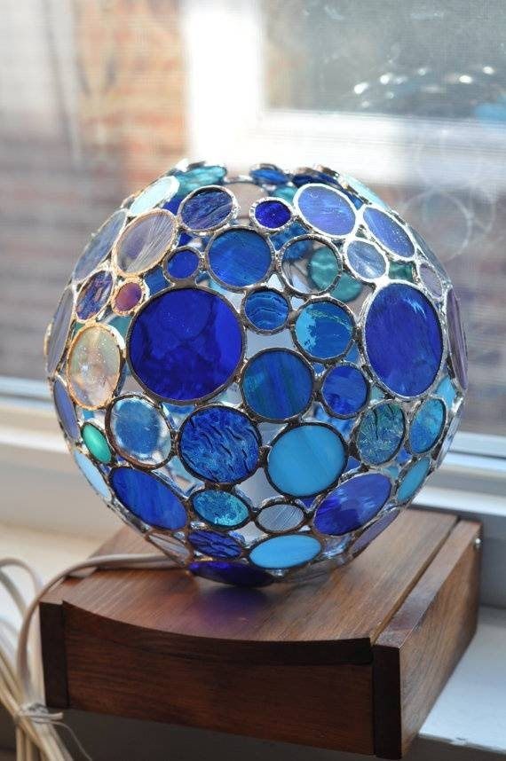 Best 10+ Stained Glass Lamp Shades Ideas On Pinterest | Tiffany For Diy Stained Glass Pendant Lights (#2 of 15)