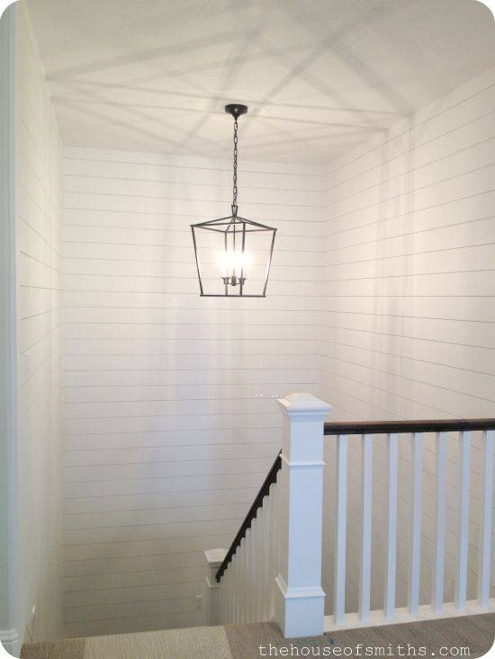Lighting Basement Washroom Stairs: 15 Ideas Of Stairwell Pendant Lights