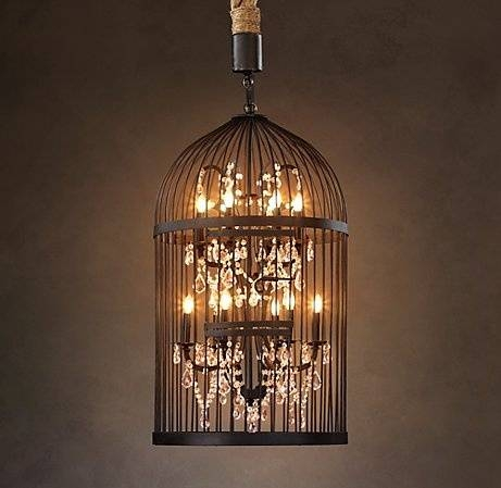Best 20+ Birdcage Chandelier Ideas On Pinterest | Birdcage Light Inside Birdcage Lighting Chandeliers (#7 of 15)