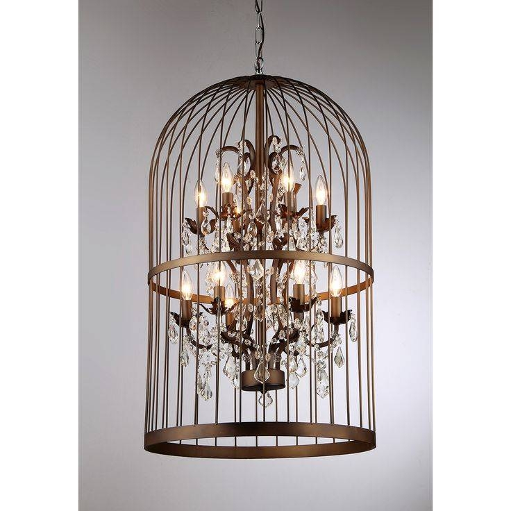 Best 20+ Birdcage Chandelier Ideas On Pinterest | Birdcage Light Intended For Birdcage Pendant Light Chandeliers (#5 of 15)