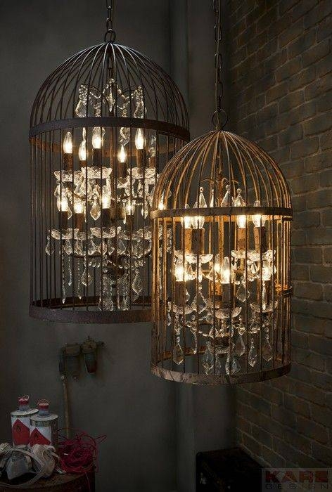 Best 20+ Birdcage Chandelier Ideas On Pinterest | Birdcage Light Intended For Birdcage Pendant Light Chandeliers (#3 of 15)