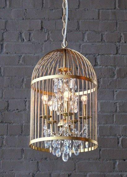 Best 20+ Birdcage Chandelier Ideas On Pinterest | Birdcage Light Regarding Birdcage Lights Fixtures (#5 of 15)
