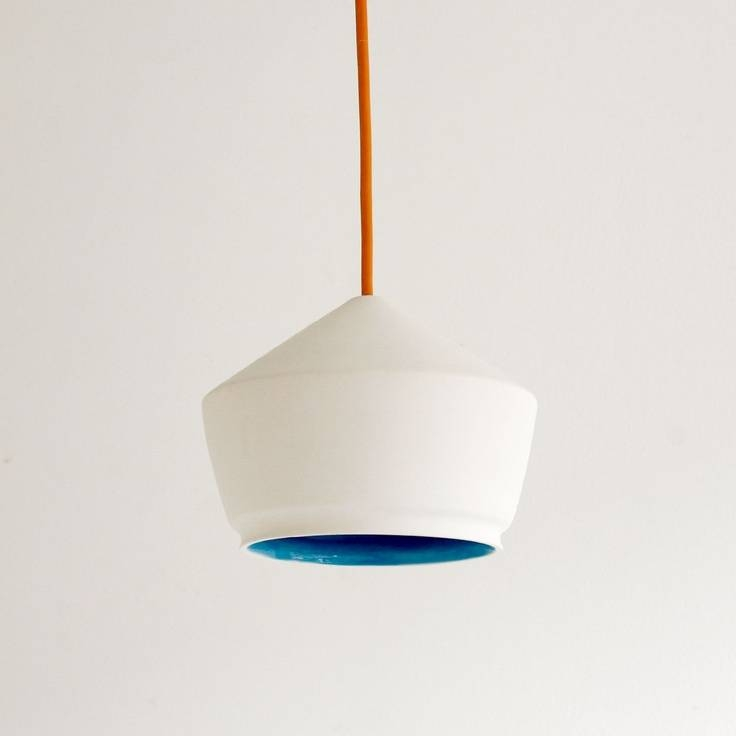 Inspiration about Best 20+ Ceramic Light Ideas On Pinterest | White Pendant Light In Etsy & Viewing Photos of Etsy Lighting Pendants (Showing 6 of 15 Photos) azcodes.com