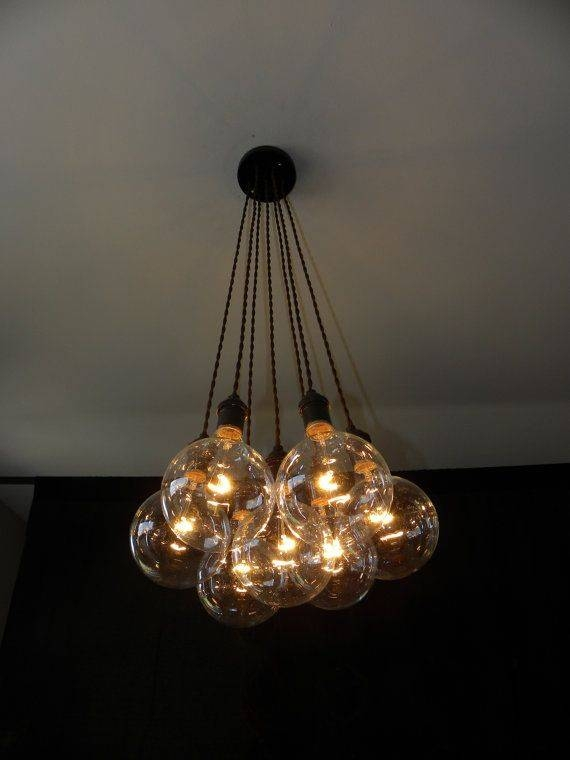 Best 20+ Cluster Pendant Light Ideas On Pinterest | Cluster Lights For Coloured Cord Pendant Lights (#9 of 15)