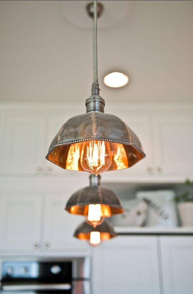 Copper Hanging Kitchen Lights