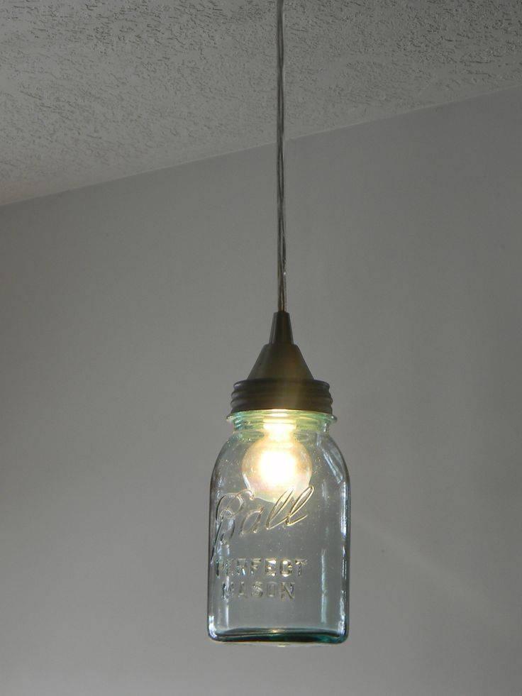 Best 20+ Diy Mason Jar Lights Ideas On Pinterest | Jar Lights Intended For Ball Jar Pendant Lights (#4 of 15)