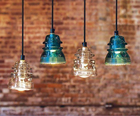 Best 20+ Insulator Lights Ideas On Pinterest | Glass Insulators Inside Antique Insulator Pendant Lights (#5 of 15)