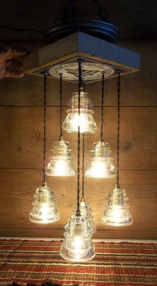 Best 20+ Insulator Lights Ideas On Pinterest | Glass Insulators Throughout Antique Insulator Pendant Lights (#6 of 15)