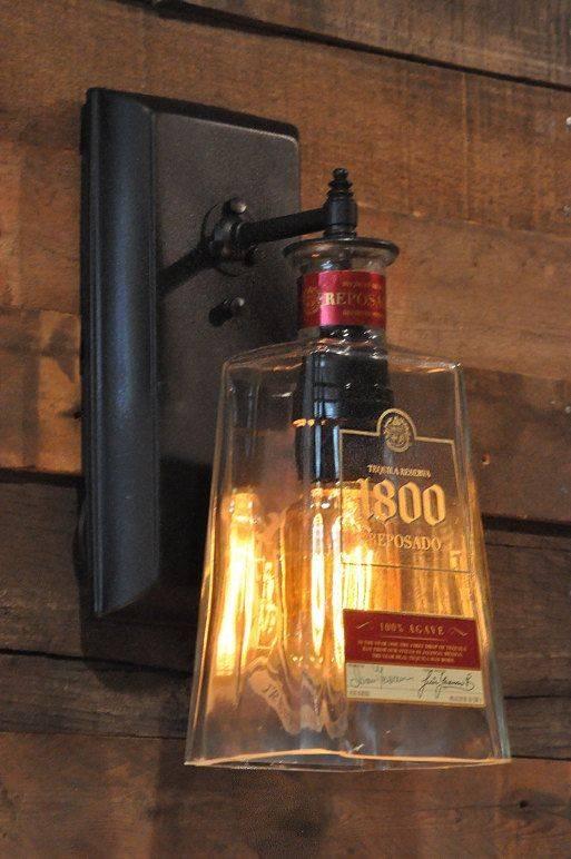 Best 20+ Liquor Bottle Lights Ideas On Pinterest | Liquor Bottle Pertaining To Liquor Bottle Pendant Lights (#6 of 15)