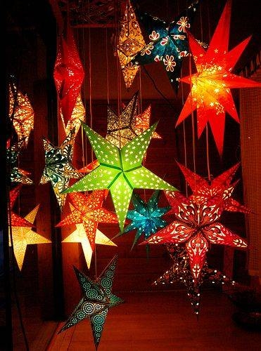 Best 20+ Paper Star Lanterns Ideas On Pinterest | Star Lanterns Inside Paper Star Pendant Lights (#5 of 15)