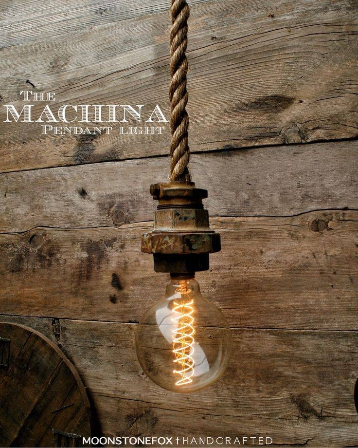 Best 20+ Rope Lamp Ideas On Pinterest | Outdoor Lamps, Driftwood Intended For Fancy Rope Pendant Lights (View 8 of 15)