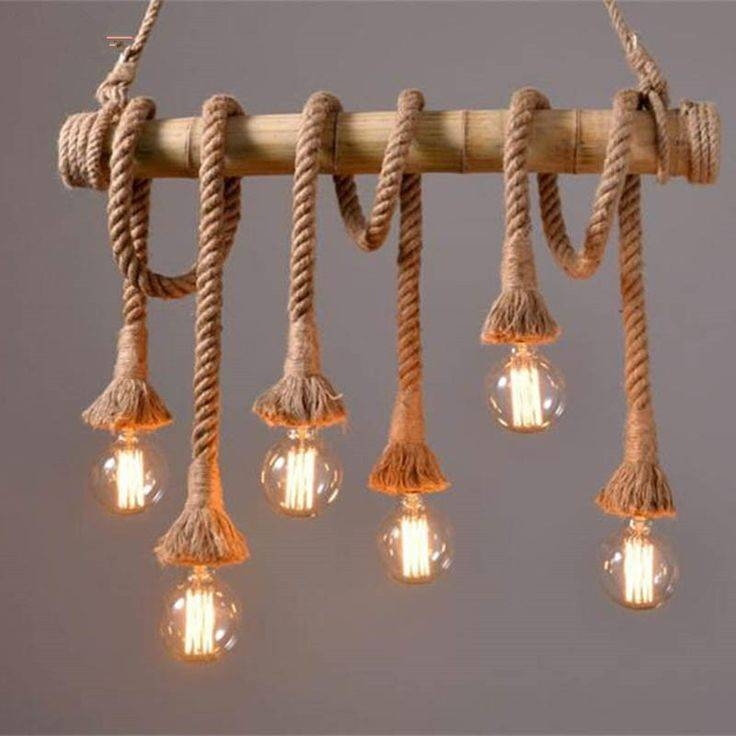 Best 20+ Rope Lamp Ideas On Pinterest | Outdoor Lamps, Driftwood Regarding Fancy Rope Pendant Lights (View 2 of 15)
