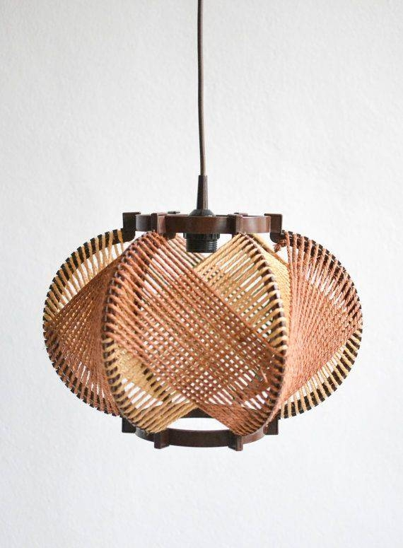 Best 20+ Rope Lamp Ideas On Pinterest | Outdoor Lamps, Driftwood Within Fancy Rope Pendant Lights (View 14 of 15)