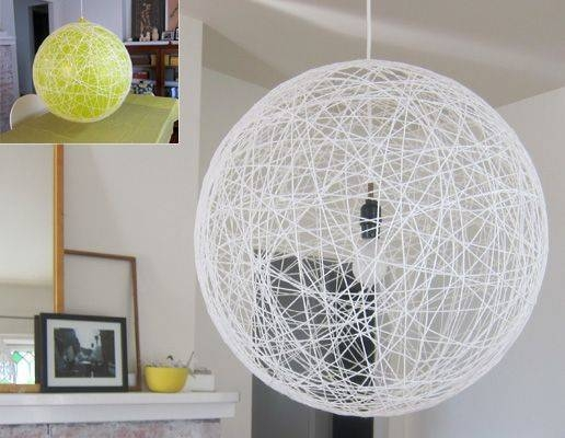 Best 20+ Yarn Lanterns Ideas On Pinterest | Yarn Chandelier, Hemp With Diy Yarn Pendant Lights (#2 of 15)