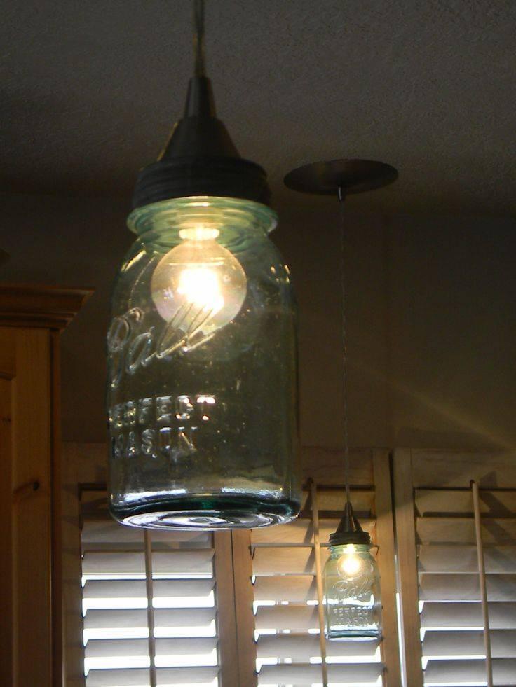 Best 25+ Ball Jar Lights Ideas On Pinterest | Jar Lights, Mason Regarding Ball Jar Pendant Lights (View 6 of 15)