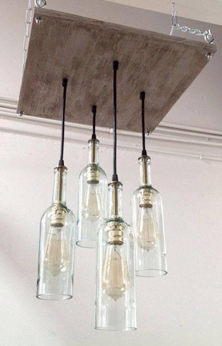 Best 25+ Beer Bottle Lights Ideas On Pinterest | Beer Bottle In Glass Jug Lights Fixtures (View 5 of 15)