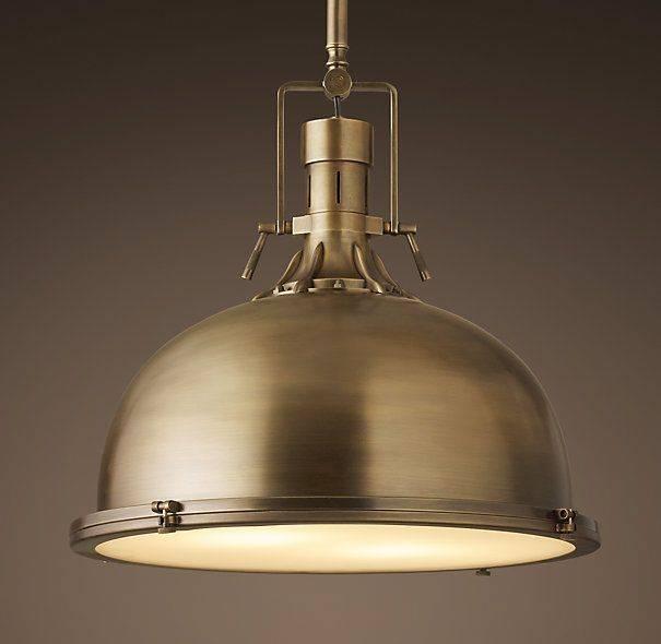 Best 25+ Brass Pendant Light Ideas On Pinterest | Brass Pendant Throughout Harmon Pendant Lights (View 2 of 15)